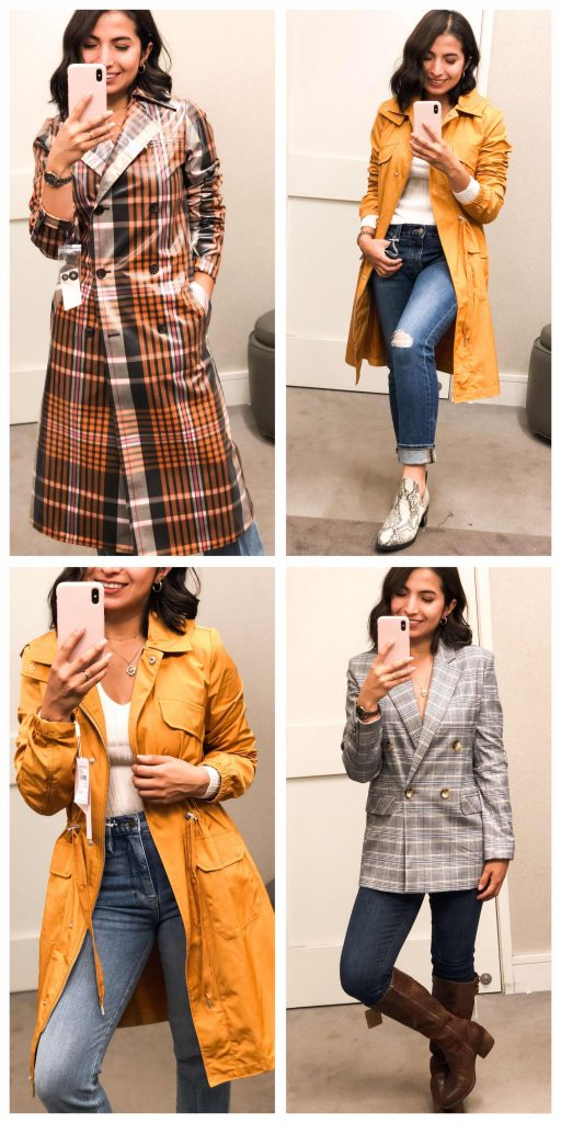 The Anniversary Sale brings us dreamy statement jackets, plaid blazers & water-resistant trench coats. It's an Early Access try-on sesh you don't want to miss.