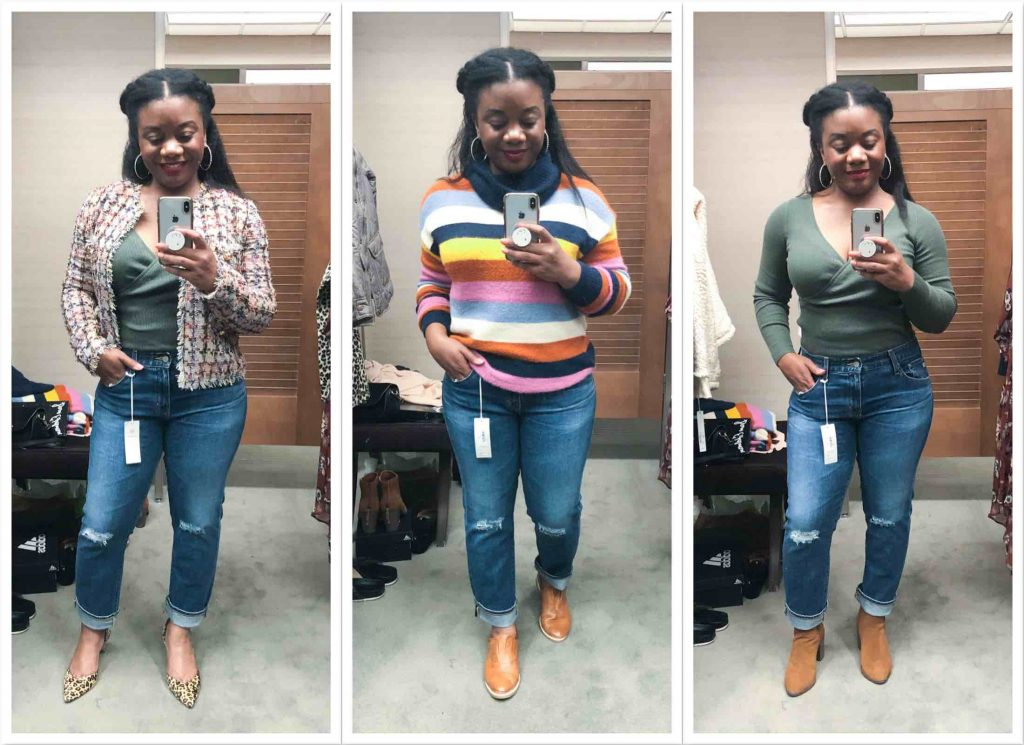 Team TME is crushing hard on the AG Ex-Boyfriend jeans. Cuffed, cute & not too rigid, they're certainly a star of the Anniversary Sale.