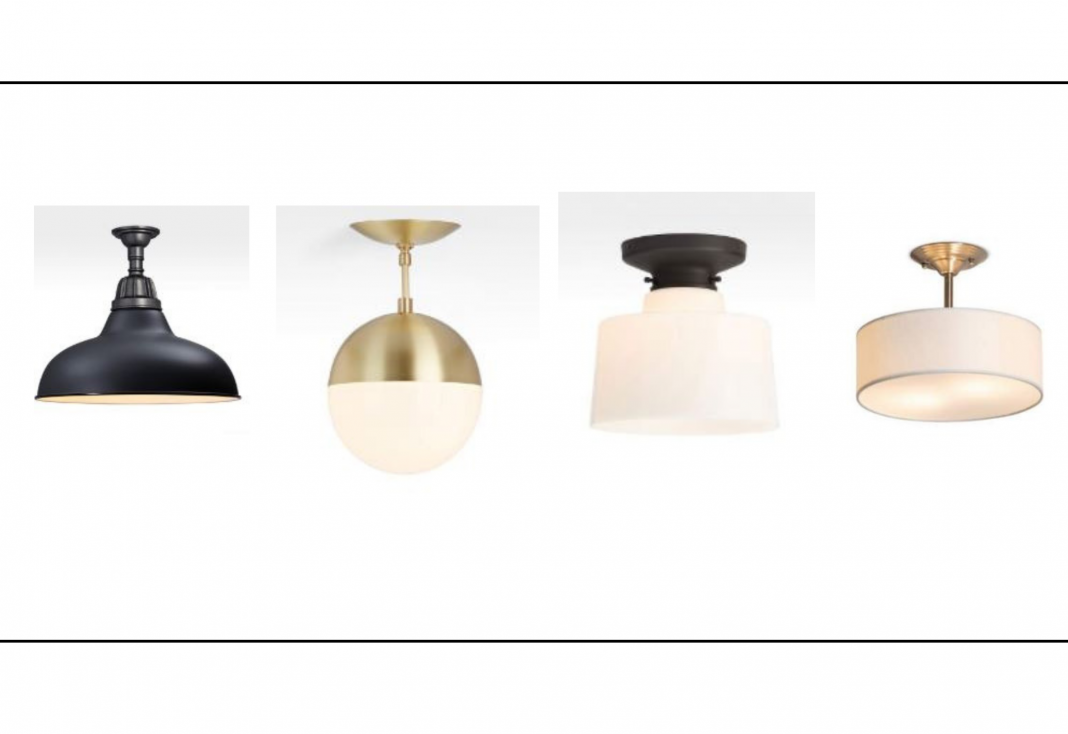 We def LOVE boobs at TME, but we prefer 'em peeking out of a new top or feeding babies — not as light fixtures. 20 flush mount alternatives, right here.