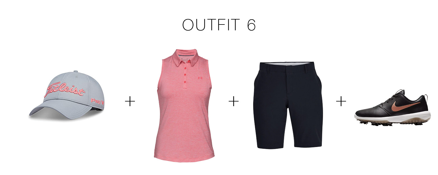 Golf outfits for women: think appropriate, cute & comfortable. The Mom Edit has alll the style advice for going for a hole-in-one on the green.