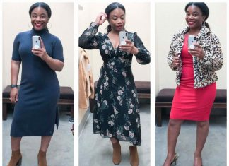 In round 2 of our Anniversary Sale try-on sessions, Tiarra's trying on all the dresses --for work, date night, girls' night & all seasons. Now go get fancy.