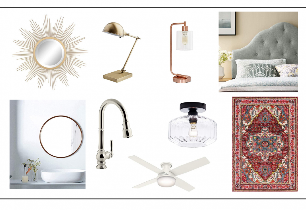 Round mirrors, our fav faucet, a beautiful area rug...Amazon Prime Day offers awesome deals on home decor (not just gadgets). Check out our favs.