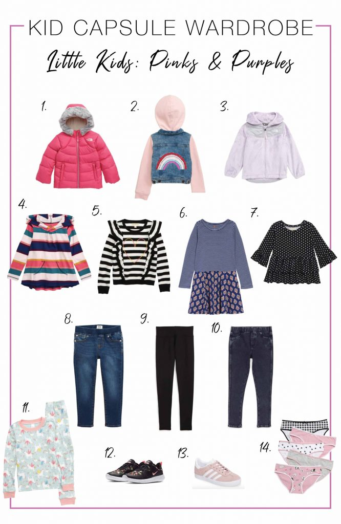 Creating capsule wardrobes for little kids is much easier with the Anniversary Sale & clickable, shoppable collages. Full your cart, honey!