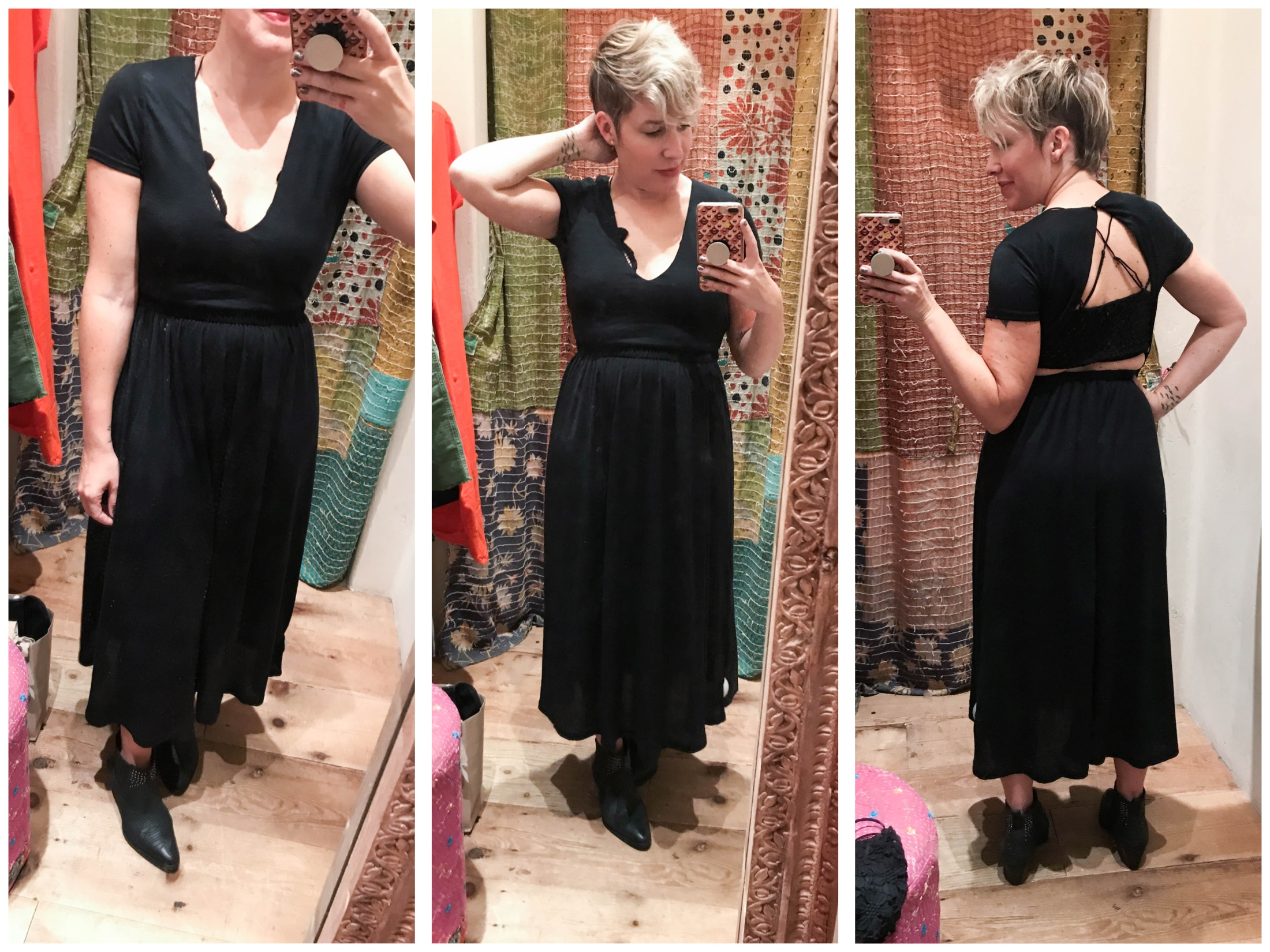 Cute camis, sexy bralette outfits, midi skirts & wide-leg crop jeans...we're finding dreamy summer clothes for shorties at Free People. Try-on sesh, inside.