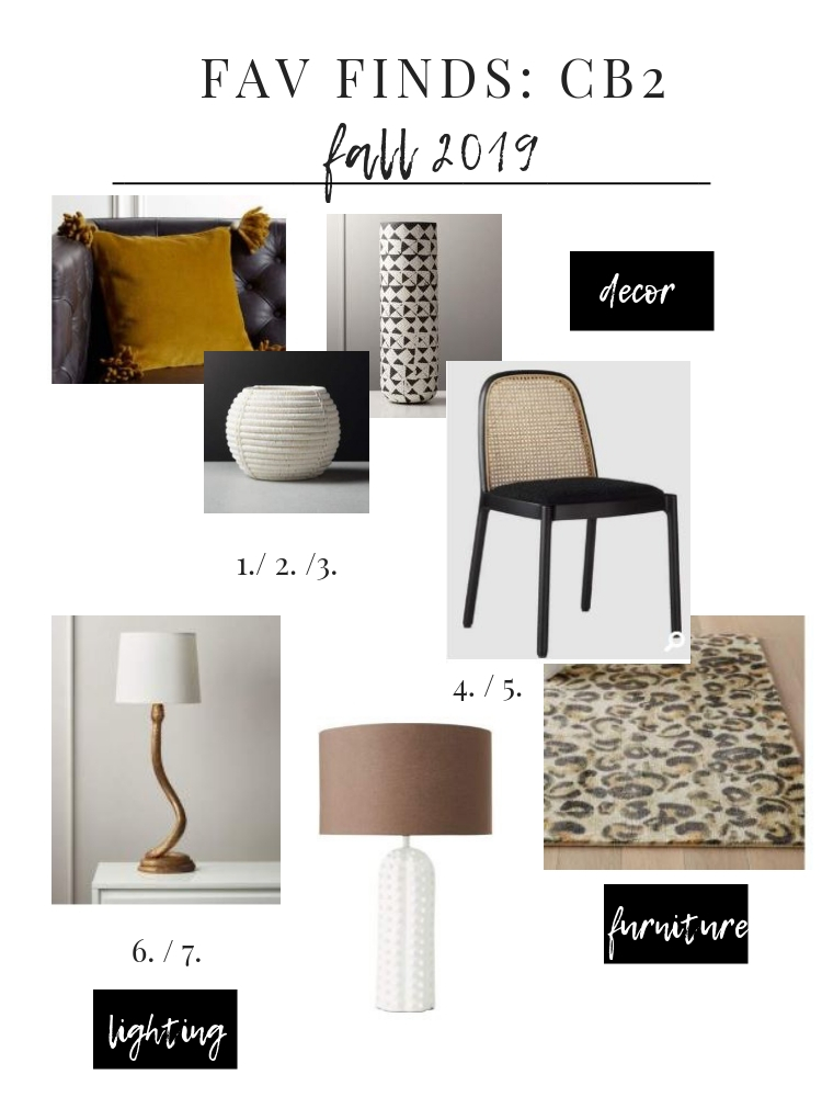 What's easier than having an interior decorator pick your furniture, rugs, accessories & lighting? Probably shopping our curated CB2 catalog list.