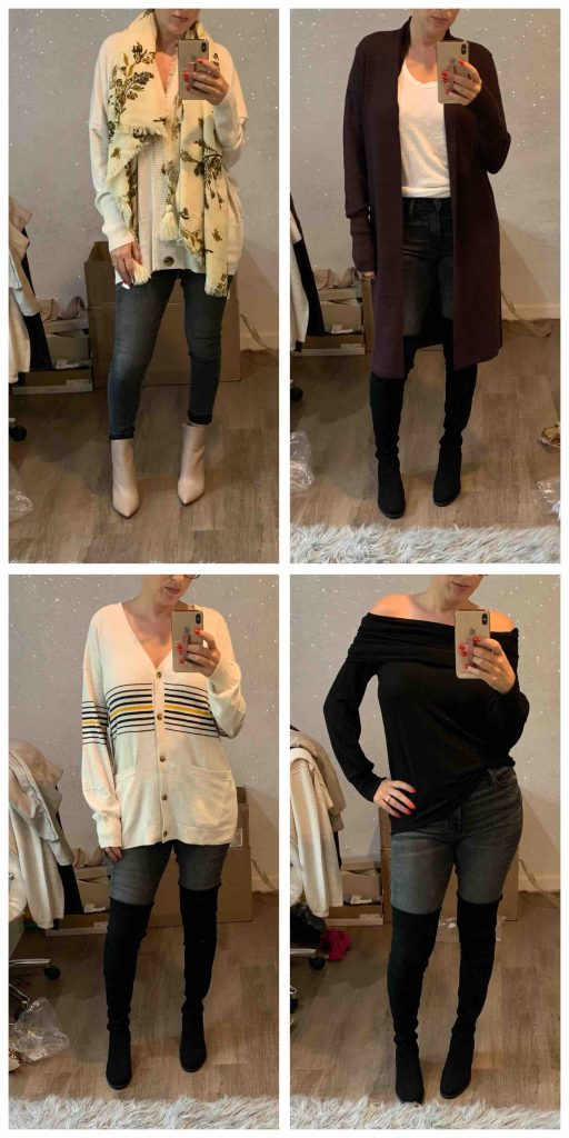 TME is totally crushing on the FRAME Le Skinny Crop jeans this Anniversary Sale. Dress 'em up or down with off-the-shoulder-sweaters, OTK boots, cardigans...