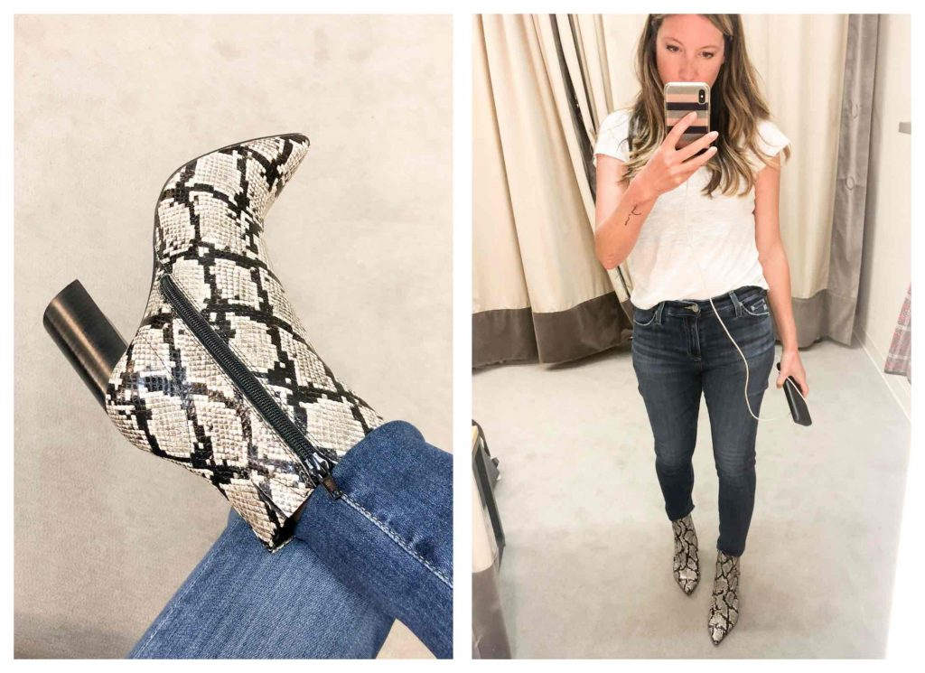 Gang, we tried on MOST of the shoes & boots in the Anniversary Sale. PAIGE, Sam Edelman, Dolce Vita, Sorel, UGGs, Vince….Here are the best (+ a comfort score).
