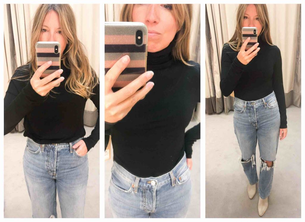 Black turtlenecks, cute turtlenecks, sleeveless mock turtlenecks — the Anniversary Sale brings out the best kind of pining for fall trends. Booyah!