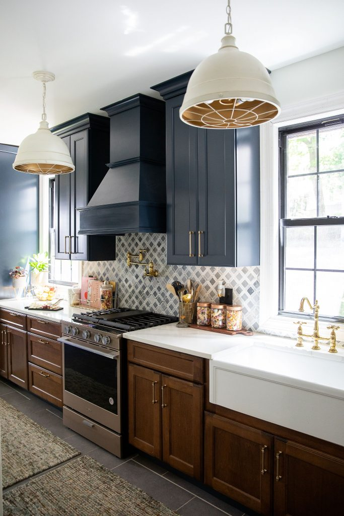 Kitchen renovations are no joke — especially for 130-year-old, galley-style kitchens in neoclassical homes. Our reveal includes a farmhouse sink — check it out!