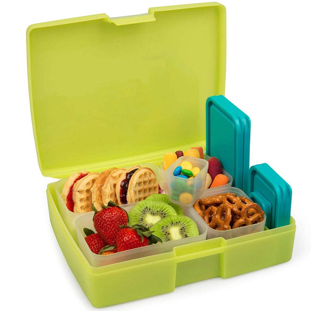 We're back-to-school supplies crazy over here at TME & today it's finding a bento box & kids' lunch ideas. 5 of these offer Prime shipping — holla!