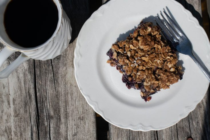 My Mom's Best-Ever Blueberry Crisp Recipe