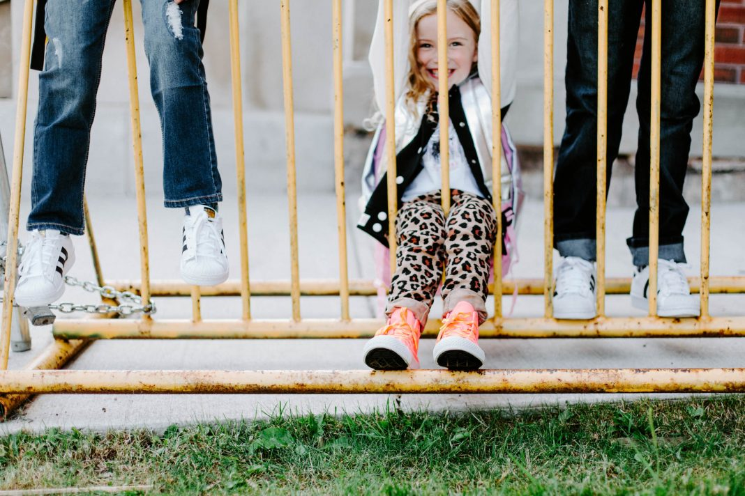 Little ones starting kindergarten, fashion-concious kids &
