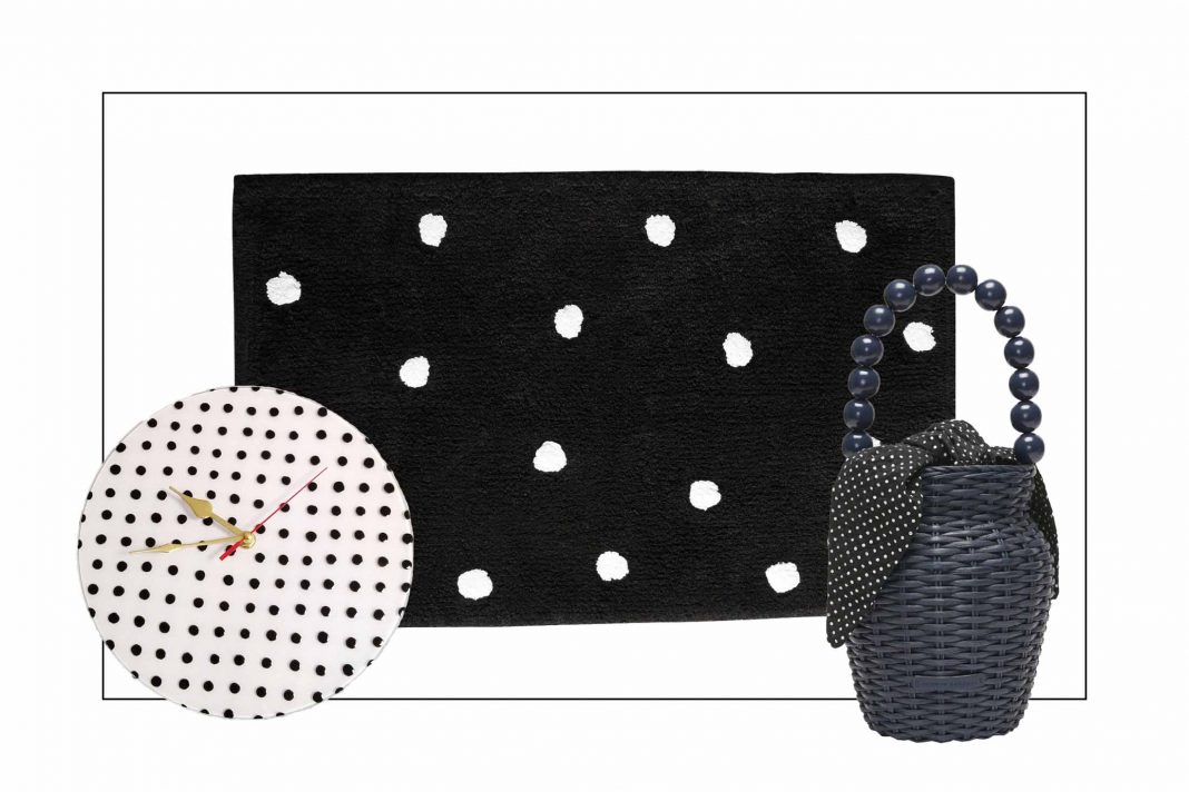 We're connecting the dots for the weekly favorite finds —polka dots specifically. In the kitchen, in the bathroom, for wall art decor...plus, the sales.