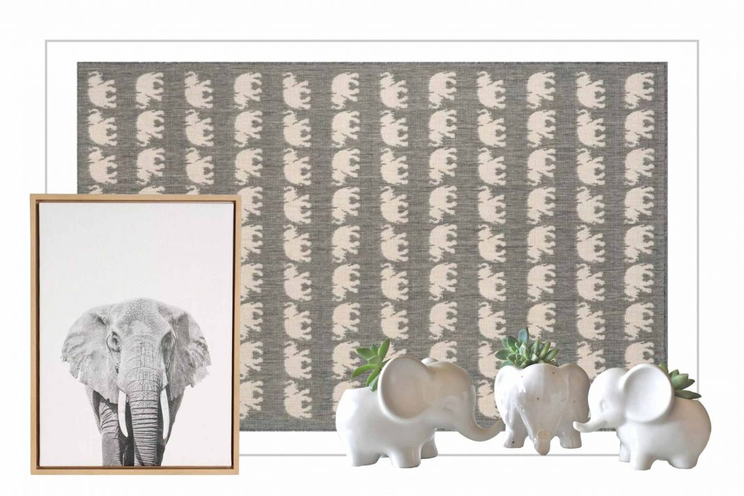 Elephants are symbols of loyalty, companionship, unity, power, success, wisdom & experience. We're bring 'em home for fun, lucky decorating.
