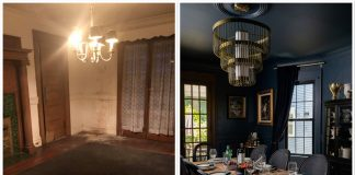 Renovating a 130-year-old home provides plenty of home decor & interior design ideas. Such as this dining room: swoon-worthy before & after inspo. Inside.