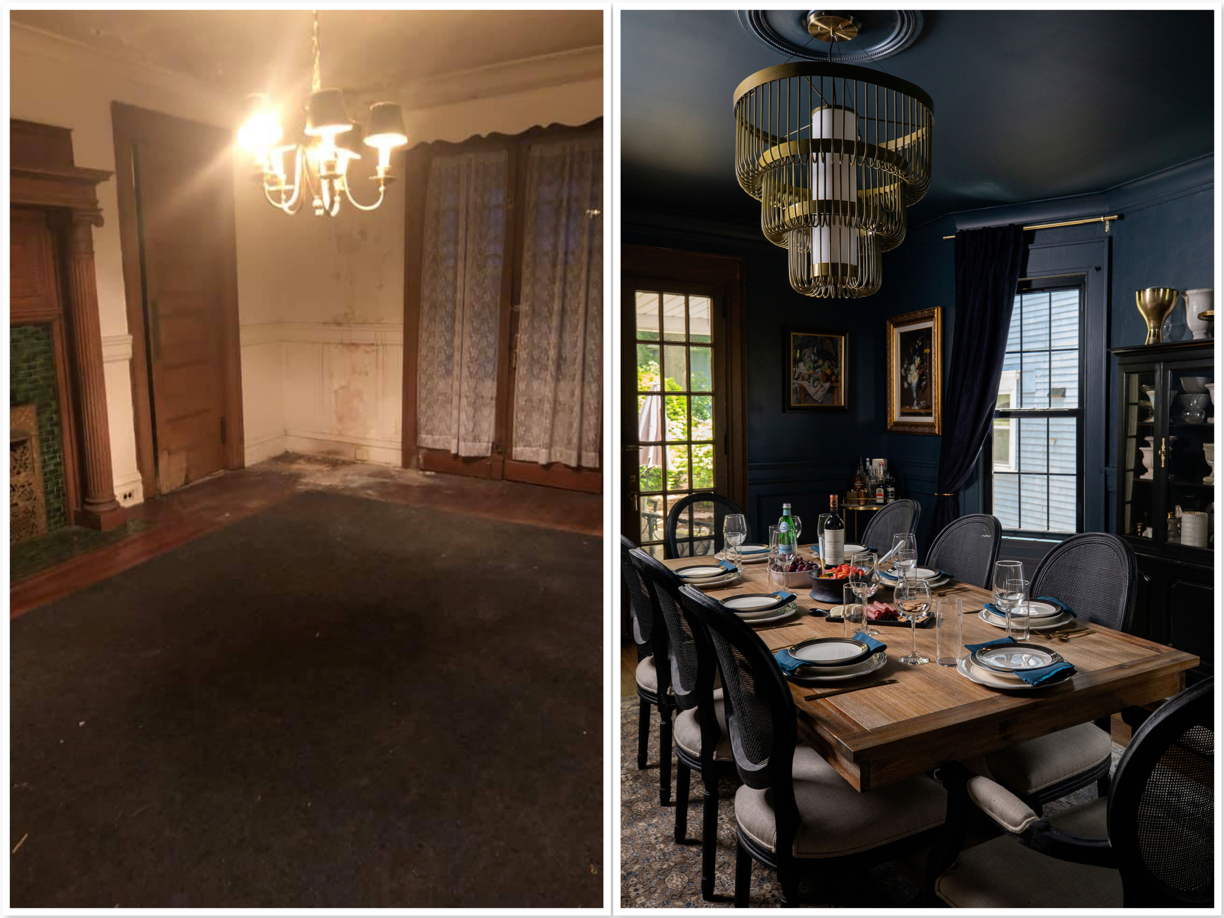Our Before & After Home Renovation: Dining Room Reveal | The Mom Edit