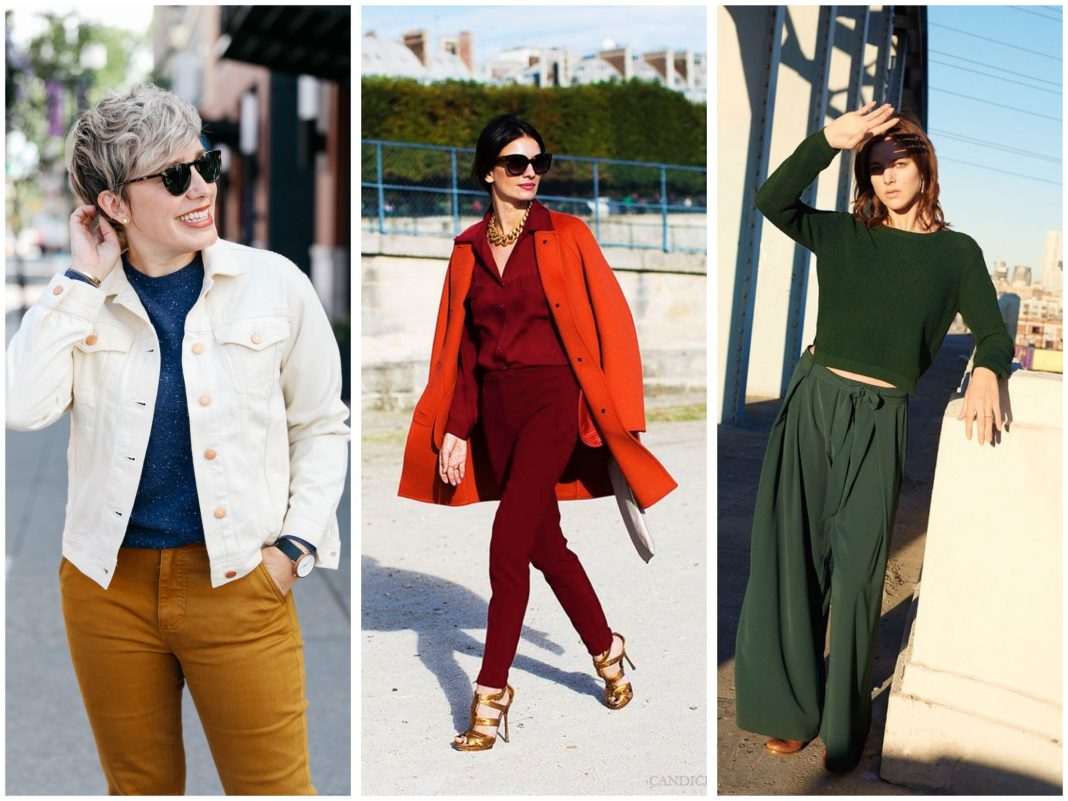 Is anything more exciting than fall fashion?! Maybe, but right now, we're all about fall trends — fall color trends that is. Goldenrod, rust, ivory...YES.