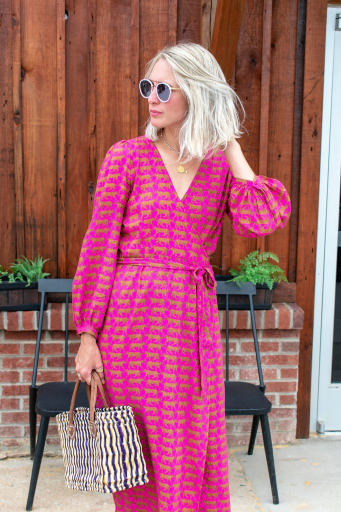 We'd wear every. single. item. of Emerson Fry clothing. As in, we'd happily trade our current closets for ALL Emerson Fry (i.e., this cheetah dress) & be thrilled.