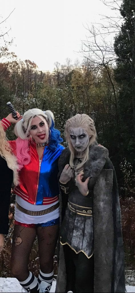 For us moms, Halloween goes down like this: we plan for MONTHS, & the whole fam is perfectly coordinated OR...we hack a costume together day-of. See ours.