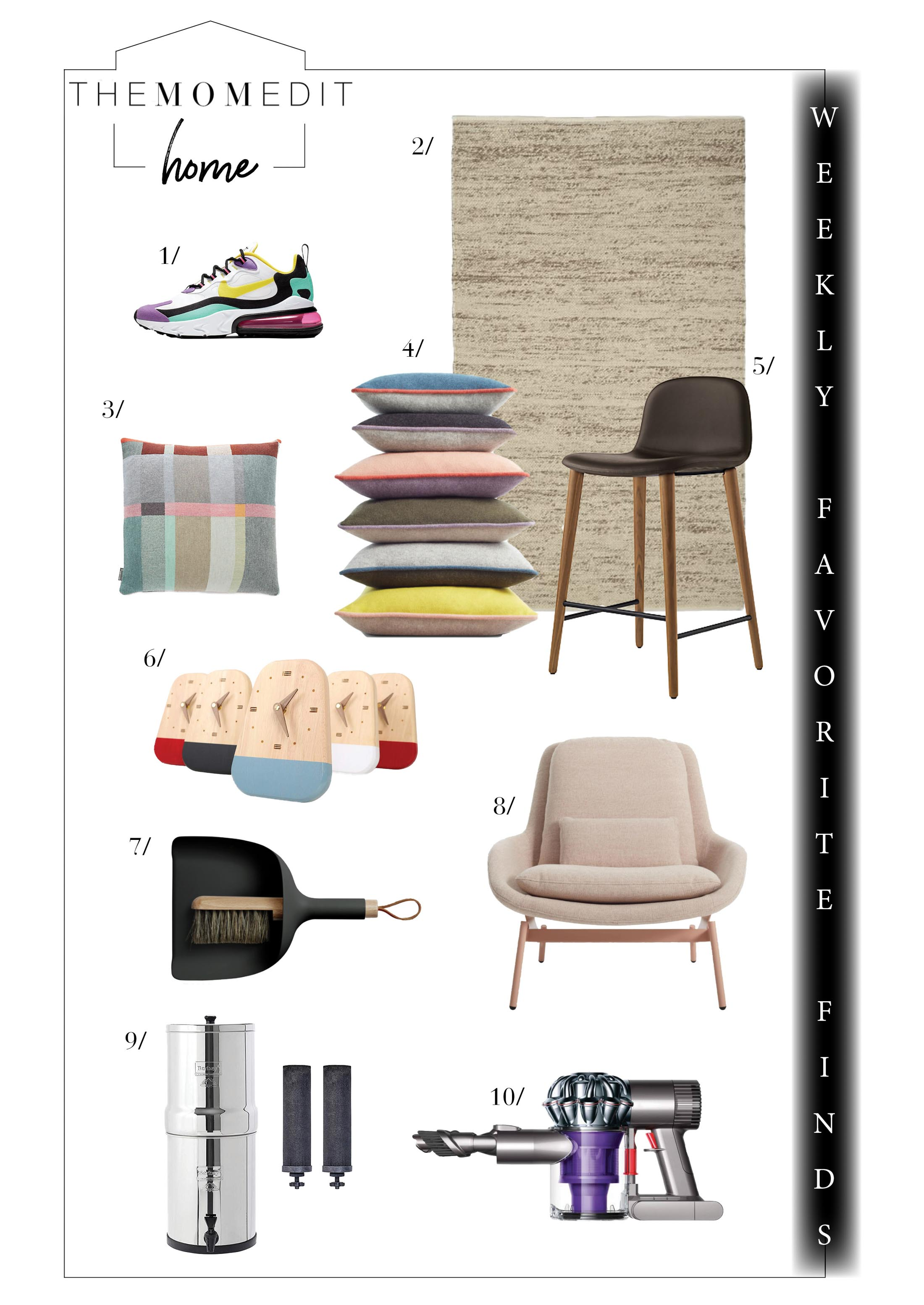 Here's a break from back-to-school changes for our weekly favorite finds & all the home decor & design things on sale....west elm, Nordstrom & CB2.