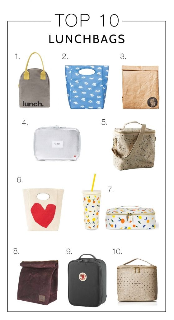 I spy with my little eye....10 lunch bags cute enough for Mama. For those of us with #watergoals, who also want a laptop bag, who want to feel happy at lunch.