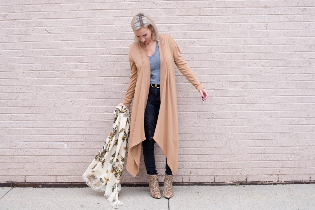 Our ode to the cardigan continues...& we're loving this easy upgrade to a casual outfit: the open-front duster cardigan. T-shirt + jeans + sweater = DONE.