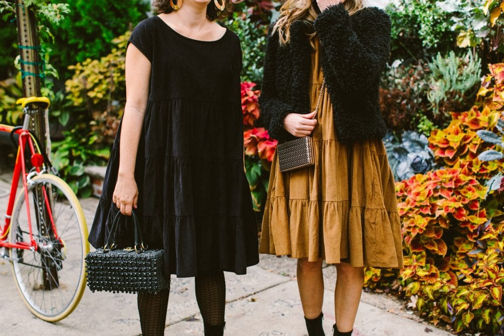 Philadelphia designer Amy Voloshin just dropped her fall line (think handcrafted, sustainable) & we're head over heels for the tiered corduroy dress. BAM!
