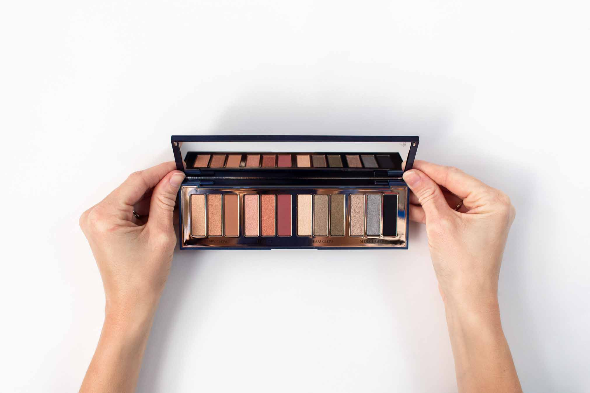 Charlotte Tilbury Eyeshadow Palette:  the range of colors is really perfect for any look I am going for. I also like that it's a 1, 2, 3 step process, with the base color starting at the left and then you just add on the other two.