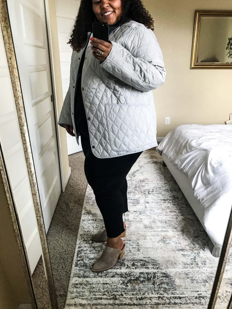 Barbour has plus-size jackets! Amazing & worth every. single. penny. The detailing, the warmth, the simple-yet-timeless style, needless to say, I may or may not be in love.