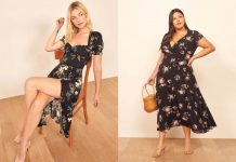 Reformation has quickly become a TME team favorite. This women-owned, sustainable fashion brand features plus size options...& offers the best dresses.