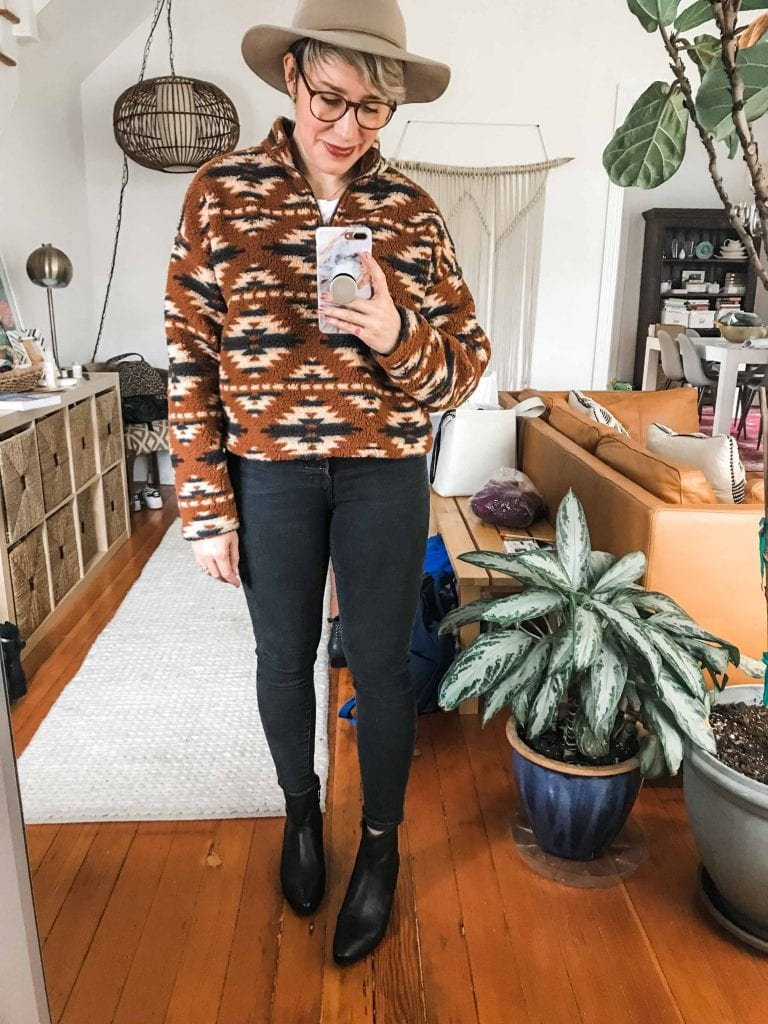 Phew! Our fall fashion wishlist brought us some really wearable outfit items — a mini capsule wardrobe if you will. Here are 5 of our favs for the daily.