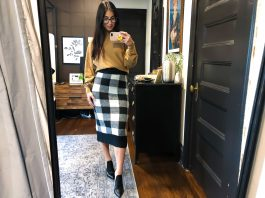 We heart a good plaid skirt! We're loving all the plaid options — mini skirts, midi skirts & bright colorblocks; these outfits are too good not to share!