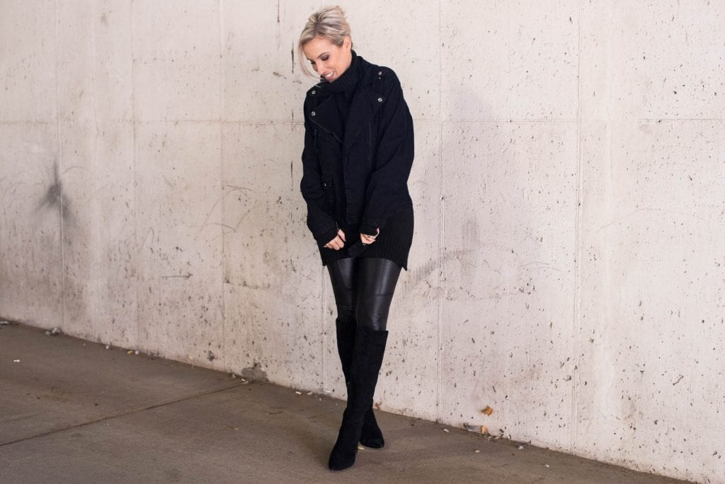 Spanx faux leather leggings? We've tried 'em all — moto leggings, petite, regular, quilted, sequins — plus this new zip detail pair. The verdict? Find out.