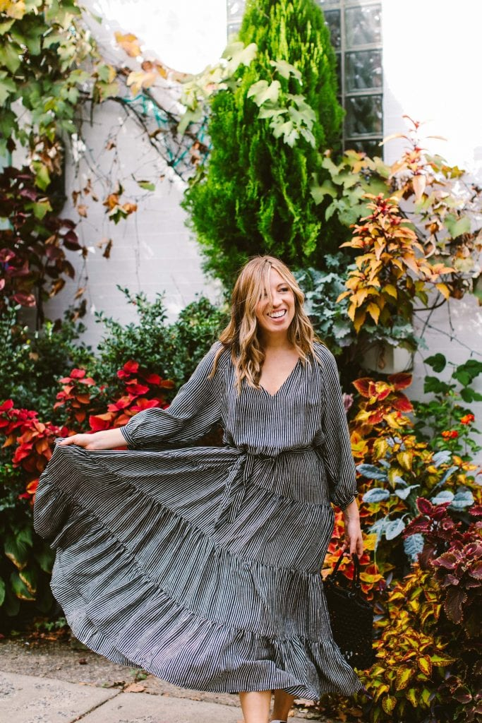 Local love. Voloshin's chic organic dresses give us serious holiday outfit vibes. Whimsical, unexpected, dramatic. Sustainable style perfect for the season.