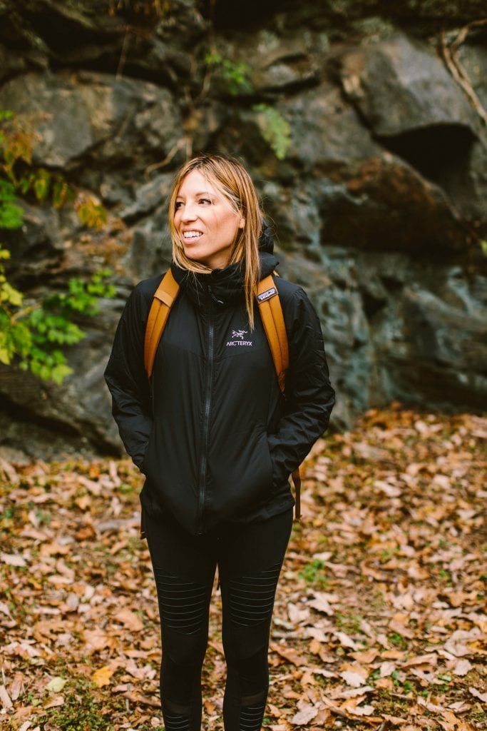 Warm & cute active jackets that go from hiking to streetstyle are our jam. We're all over Lolë, Patagonia, The North Face & Arc'teryx. Wear 'em like this.