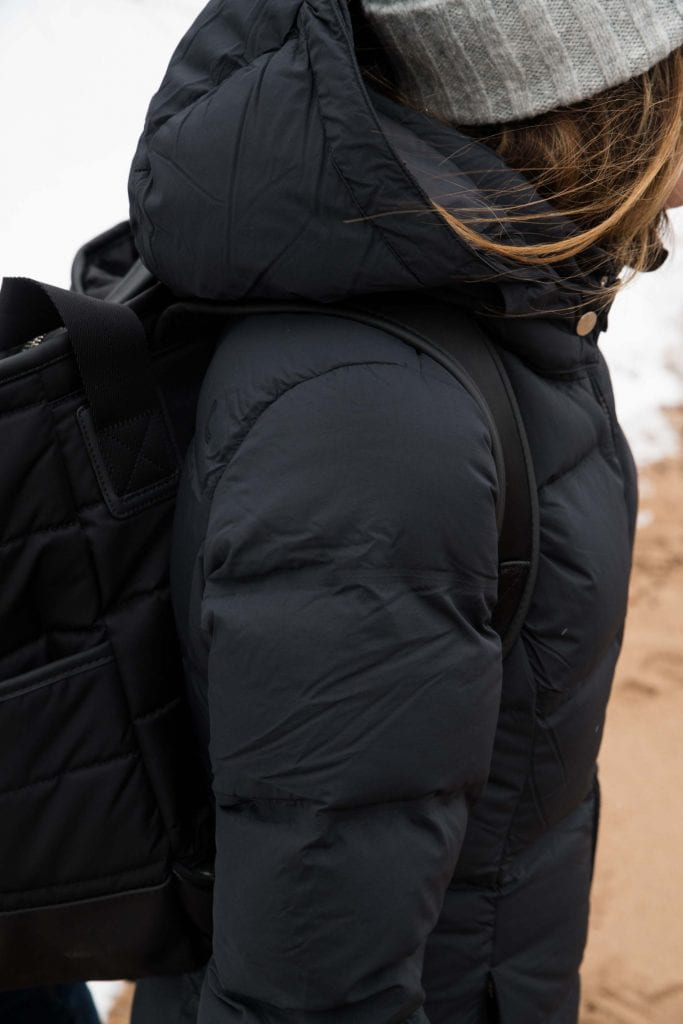 We freakin' love Lolë. Based in Canada, they feature eco-friendly products. Lolë knows cold & does coats really well. The warmest, lightest puffer jackets.