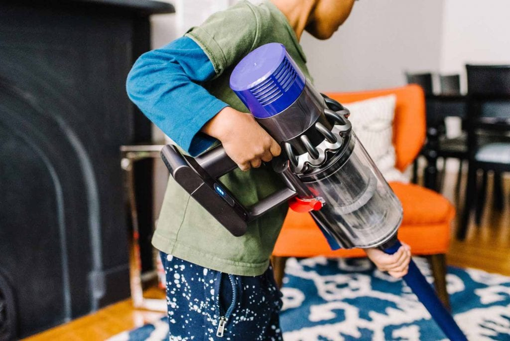 I'm obsessed with my V8 Dyson cordless vacuum & thrilled to try the V10 Cyclone. it's chic, quick, mobile & the attachments actually work. Cleaning SCORE!