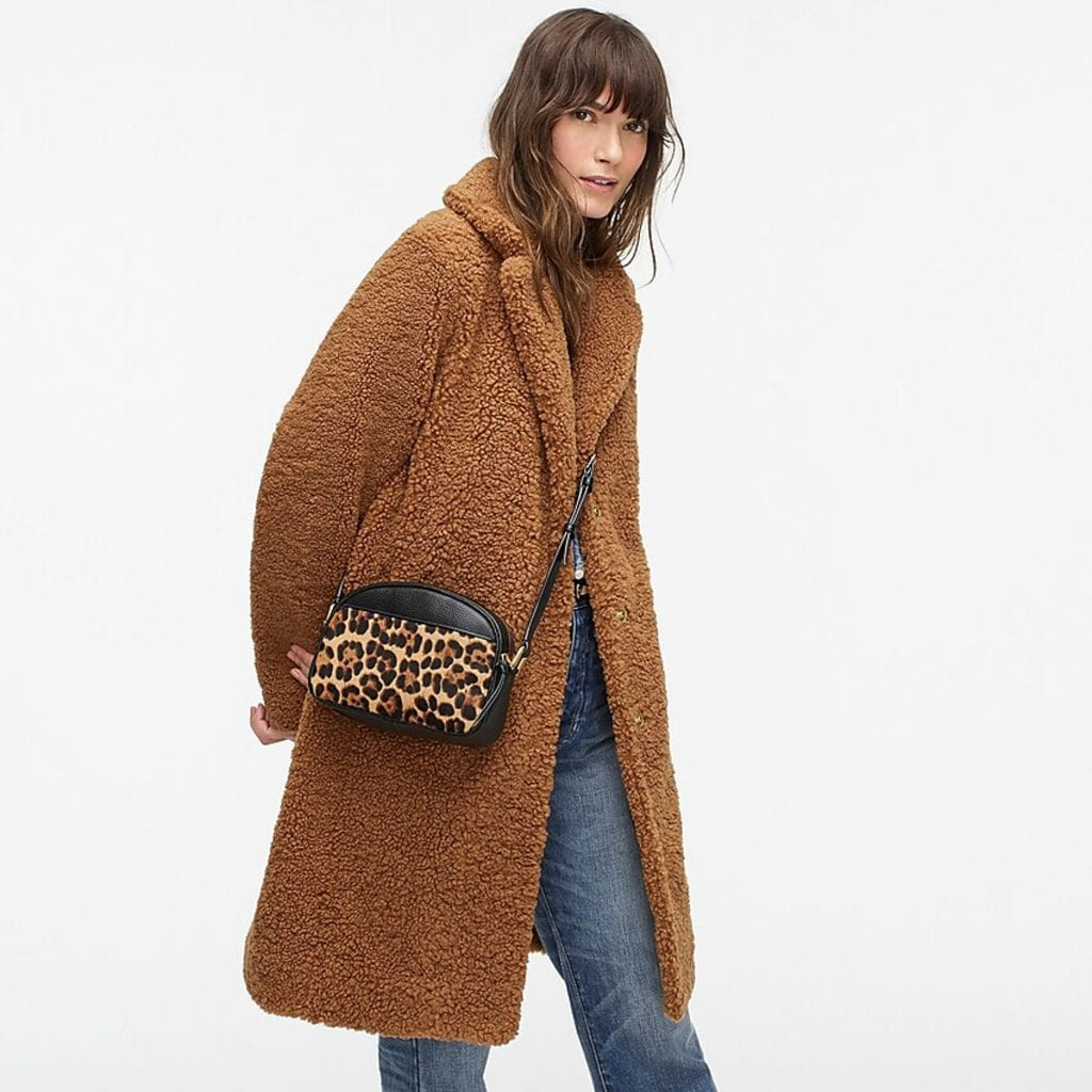 So Audrey Hepburn. We're on the hunt for classy women's coats...peacoats, day coats, teddy coats & chic puffer jackets. A J. Crew try-on sesh provides!