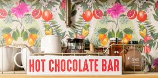 Mocktails aren't the only cool drinks for kids. Set up a hot chocolate bar (think, coffee station, but more fun) & whip up warm holiday magic. Just 3 steps.