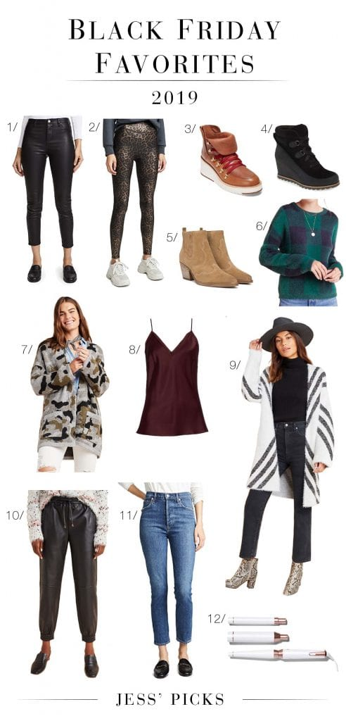 Our Black Friday sale picks include winter booties, cozy cardigans & a magical wand promising to transform hair from flat & frizzy to wavy wonderland...