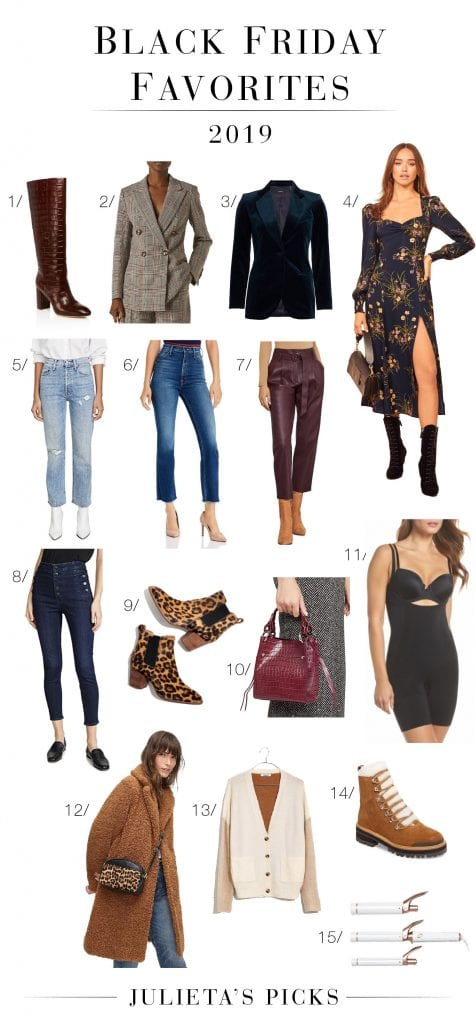"Our ""casual-to-fancy mom"" Black Friday sale picks are in! It pretty much sums us up. High-quality pieces + favs per retailer too (some under $100). Shop it!"
