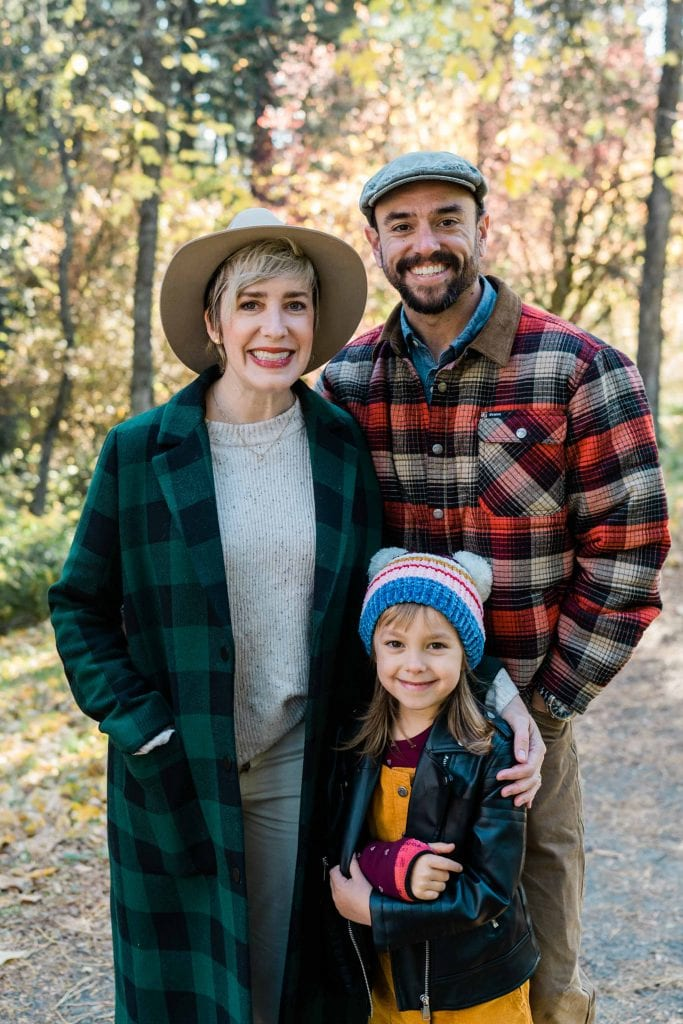 We've got family photo outfit #protips, obvi. For holiday season (or any time) this holiday photoshoot inspo from our resident graphic designer is TRUTH. Smile!
