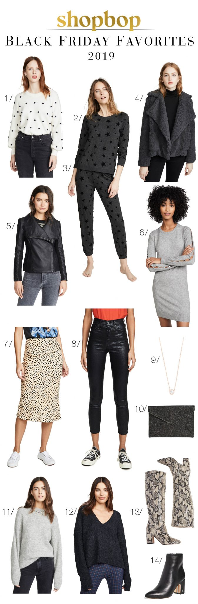 Black Friday + Shopbop Buy More, Save More = the perfect time to buy. Sam Edelman boots, Free People sweaters, BB Dakota...SO GOOD. Shop NOW.