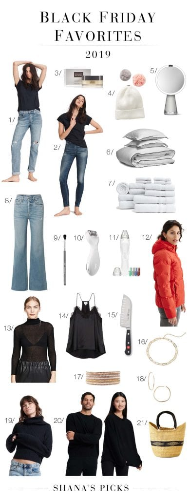 Parachute linen, rag & bone jeans, sustainable cashmere sweaters & my beloved Colleen Rothschild skincare —Black Friday sales, babes. Get it now.