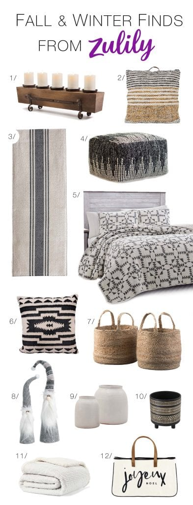 Holiday hosting time. For the merriest home decor ideas, we're shopping Zulily. Think warm neutrals with rustic & festive vibes. Fun + easy = win.