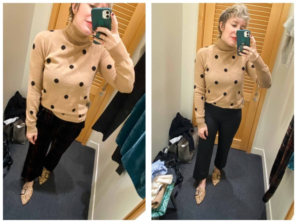 J.Crew has great holiday outfit pieces, y'all. I want all the cute festive stuff, plus ALL the velvet & gorg sweaters. Here are 6 fall & winter ideas I ?.