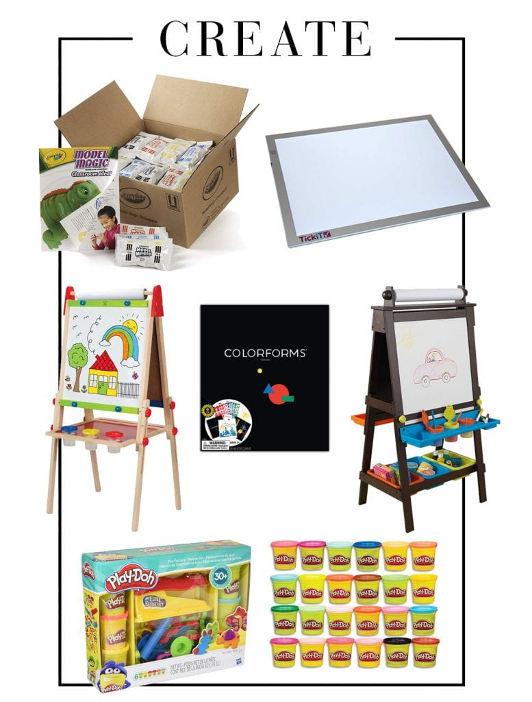For Cyber Monday, Amazon has deals on a ton of our favorite games, kits, blocks, art supplies & playscapes on sale. Here are our fav STEAM recs.