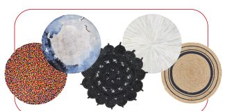 You spin me right round, Baby....Our 16 fav round rugs — all textures, weaves, hides, patterns & edging — for any area. Let's get this roundup started.
