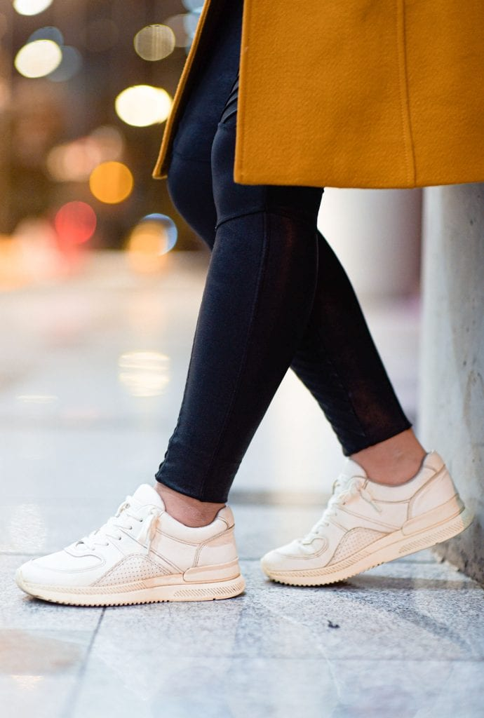 A pair of sneakers I had no idea I needed made its way to my closet. The Tread Trainers by Everlane. Sustainable. Chic. Comfy. Versatile. YES.