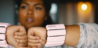 Love a good fitness class? Us too. We're kicking it up a notch by adding wrist & ankle weights that are actually chic. Check out Bala Bangles — super-cute.
